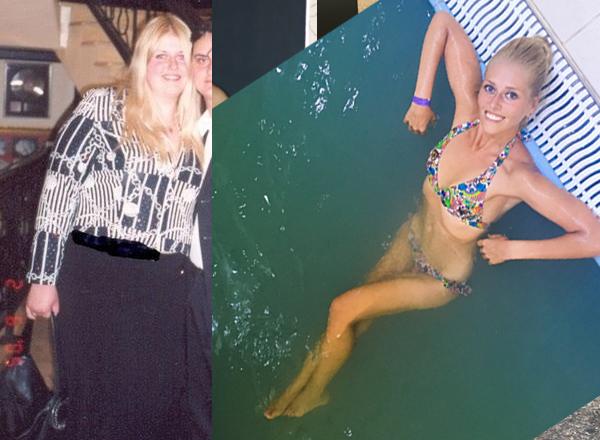 Марина Кочина до и после
